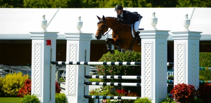 AERIN at the Hampton Classic